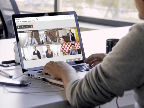 Videoconferenza su Internet